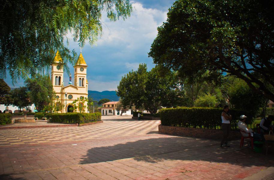 Vista al Parque Sutamarchan